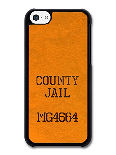 Funny Orange County Jail Jumpsuit Criminal Inmate Prisoner Badass case for iPhone 5C