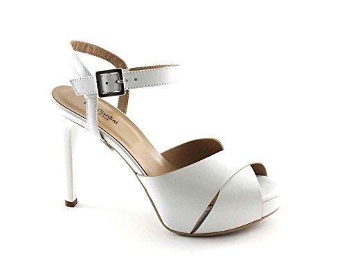 Nero Bianco femme pour blanc Bianco Giardini Sandales rqYxtrz
