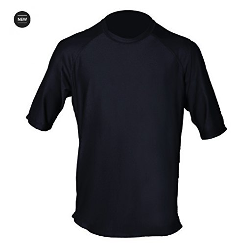 Paddle Board Accessories Loose Fit Swim Shirts for Men - Short Sleeve UV 50 + Sun Protection Swimwear - Play in The Sun All Day with No Sunburn - The Softest Most Comfortable Swimming Clothing