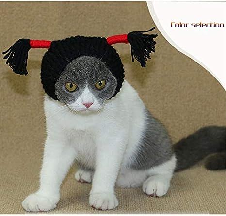 Live Stories - Tiara de Gato Negro escorpión Sombrero Divertido Accesorios de Foto Mascota joyería Teddy Bomeibi Xiongying Corto Gato Tiara en un Gato ...