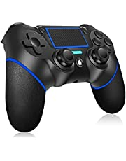 Wireless Controller for PS4 Ainoibo Wireless Controller for PS4/Pro/Slim, Touch Panel Gamepad with Double Vibration and Audio Function