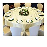 Folding Chairs for Sale Wholesale SPRINGROSE 50 White Scuba Spandex Stretch Universal Wedding Chair Covers. It is Made for Use on Folding and Banquet Chairs.
