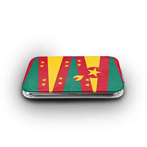 Cookfun Originality Grenada Flag Makeup Mirror Mini Pocket Mirror (Rectangle)