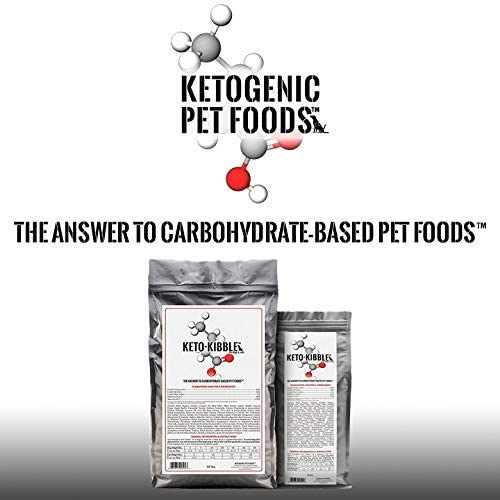 Ketogenic Pet Foods Keto-Kibble High Protein Low Carb Starch Free Grain Free Dog Cat Food