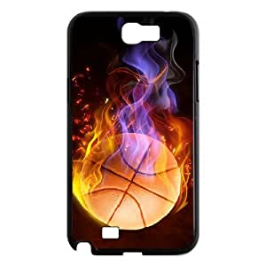 YCHZH Phone case Of Cool and Colorful Basketball Cover Case For Samsung Galaxy Note 2 N7100