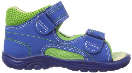 Richter Kinderschuhe Dominique 2001-322 Jungen Sandalen Blau (lagoon/apple 6911)