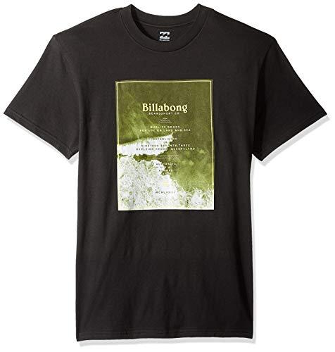 - Billabong Men's Overhead T-Shirt Black Medium
