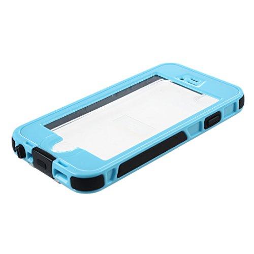 SODIAL (R) Schutz Wasserdichter Case fuer iPhone 6 - Hellblau