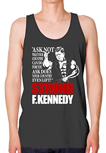 Bro Science Men's Strong F Kennedy Tank-top Large Heavy - Shop Dom Kennedy