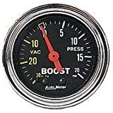 Auto Meter 2401 0-20/0-30 TURBO BOOST