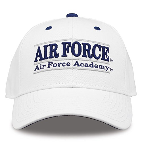 The Game NCAA Air Force Falcons Unisex Nckname bar Design Hat, White, - Falcons Force Game Air