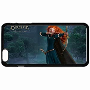 "Personalized iphone6 4.7"" iPhone 6 Cell phone Case/Cover Skin Princess merida in brave movies pixar's movies Black"
