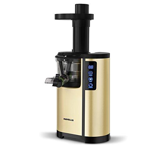 Havells Nutrisense 150W Cold Press Slow Juicer 150W, 47 RPM, Silent operation