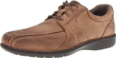 Clarks Men's Clarks Sektor 4 Eye Oxford,Brown Leather,10.5 M US
