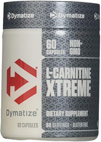 Dymatize Nutrition L-Carnitine Xtreme, 60 Capsules Pack of 2