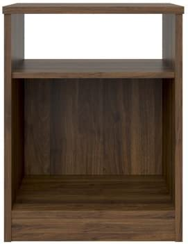 Mainstays Nightstand, Canyon Walnut