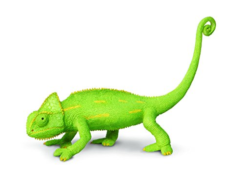 (Safari Ltd Incredible Creatures Veiled Chameleon Baby Hand-Painted Toy Figurine For Ages 3 And)