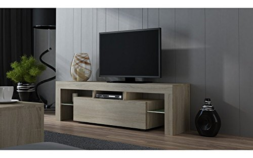 TV Stand MILANO 160 Matte line / Modern LED TV Cabinet / Tv Console fit for up to 70