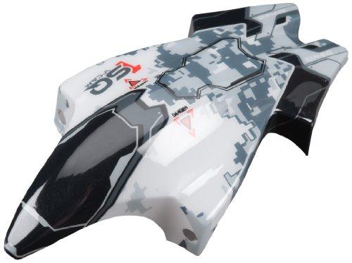 Heli Cam (Heli Max 1SQ V-Cam Canopy, White/Black)