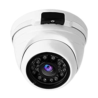 1080P Indoor Outdoor Metal Dome IP Infrared Home Security Camera