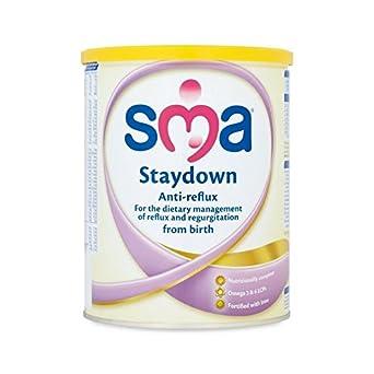 Sma Staydown Anti-Reflux-Pulver 900G Säuglingsnahrung - Packung mit 4