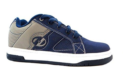 Heelys Mens Split Navy Gray Roller Scarpe Da Skate Sneakers Blu Navy