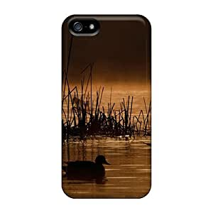 Fashion HjmKrSP8758IYgEw Case Cover For Iphone 5/5s(ducks At Sunrise)
