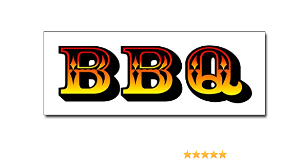"louis style rib 24/"" BBQ RIBS DECAL sticker barbque bar-b-q bbq supplies st"