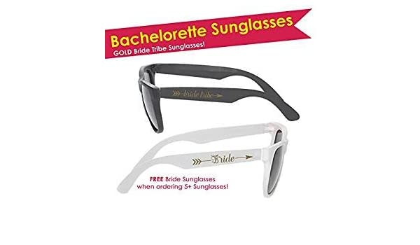 25c5230819 Amazon.com   12qty Bachelorette Party Sunglasses (Bride Tribe Sunglasses) +  FREE Bride Sunglasses   Everything Else