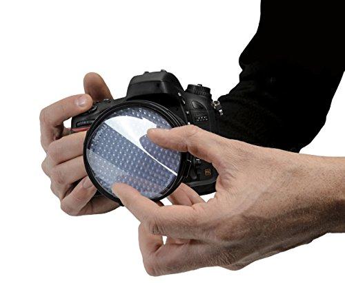 ExpoDisc EXPOD2-77 2.0 Professional White Balance Filter 77 mm, 82mm (Black)