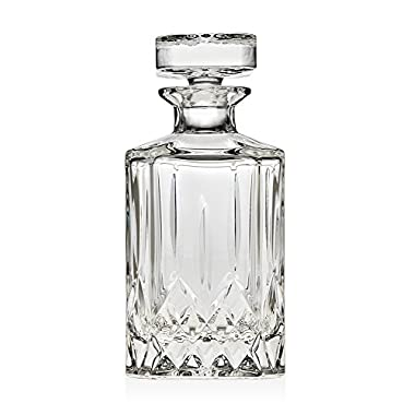 Godinger Silver Art Oxford Crystal Collection Whiskey Decanter With Stopper (650ml)