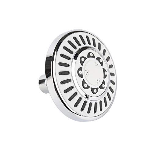 5-setting Water Saving High Pressure 4 Inch Showerhead, Multi-Function Massage Jet Spray Bathroom Adjustable Round Fixed Shower Head ABS - Saving Water