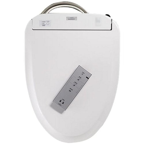 Elongated Washlet Toilet Seat Finish: Cotton by Toto