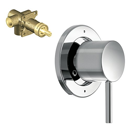 Moen K-T4191-72CH Align 3-Function Transfer Valve Trim with 1/2-Inch CC Rough-in, (Moen Three Function Transfer Valve)