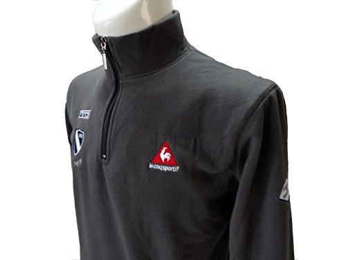 le coq sportif(ルコックスポルティフ) ゴルフ メンズ 長袖 ジップシャツ/長袖シャツ PD12 L グレー (L) [並行輸入品]