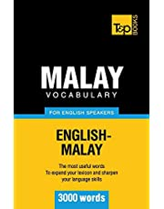 Malay vocabulary for English speakers - 3000 words