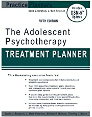 The Adolescent Psychotherapy Treatment Planner: Includes DSM-5 Updates 5th Edition
