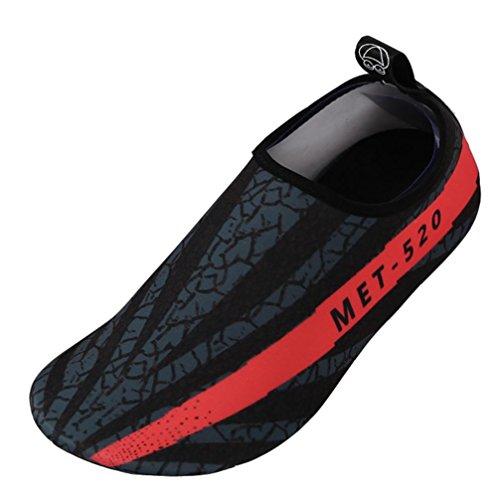 Deesee (tm) Uomini Donne Sport Acquatici Allaperto Immersioni Yoga Calze Da Surf Nuotare Spiaggia Snorkeling Calzini Neri