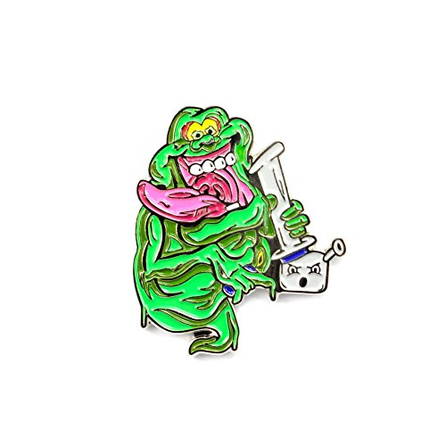 Ghostbusters Slimer Stay Puft Marshmallow Man Bong Rip Stoner -