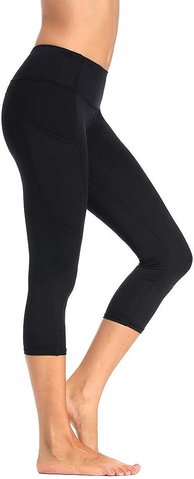 Olacia Yoga Pants with Pocket High Waisted Tummy Control Workout Leggings