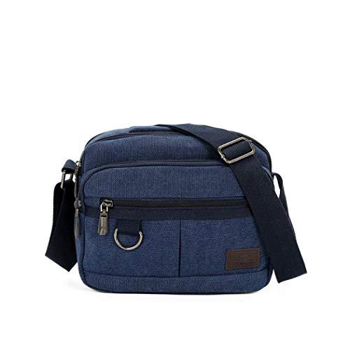 Green handle Army Mangetal Bag One Top Men's Blue Size nZFqqRX