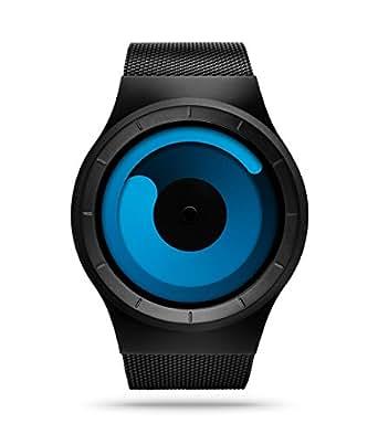 ZIIIRO Z0002WB1 Mercury Black Ocean Unisex Watch