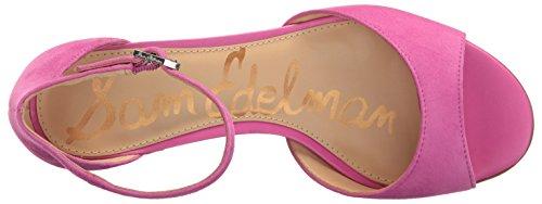 Sam Edelman Sandalias de la mujer Susie vestido Hot Pink Suede