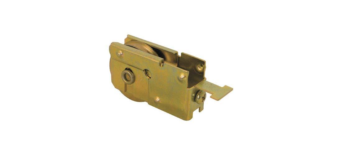 Doors CRL Sliding Glass Door Roller with 1-1//8 Steel Wheel 5//8 Wide Housing for Capital Mfg