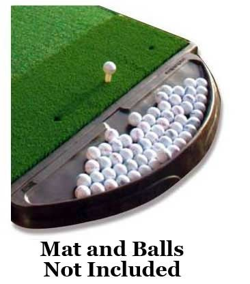 Deluxe Rubber Golf Ball Tray - Premium Professional Quality - Holds Approximately 150 Golf Balls! - Family Owned And Operated Since 1997 - Dura-Pro Golf Mats are the #1 Mat - Deluxe Ball Rubber