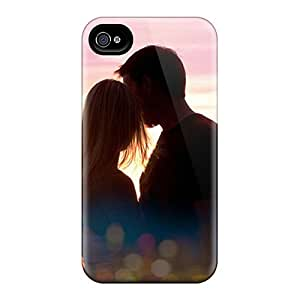 Top Quality Rugged Sweet Couple Case Cover For Iphone 4/4s