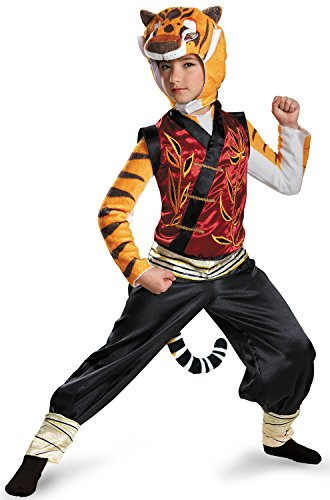 Disguise Tigress Deluxe Costume, Medium (7-8) (Tiger Costumes For Kids)