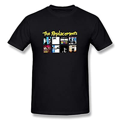 WunoD Men's The Replacements Studio Albums T-Shirt