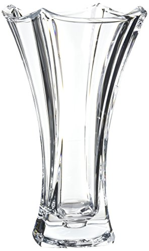 Belleek Pottery 45013 Dune Waisted Vase, 12-Inch, Clear, Set of 1