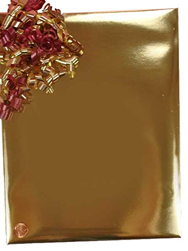 Gold Foil Gift Wrap 24'' X 100' by Paper Mart